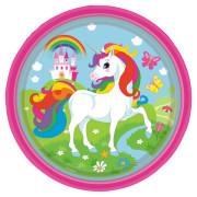 Papperstallrikar Unicorn 8p