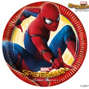 Papperstallrikar Spiderman 8p