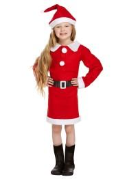 Tomtedräkt klänning barn