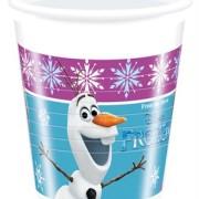 Muggar av plast Frozen 8p