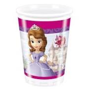 Muggar av plast Prinsessan Sofia 8p