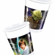Muggar av plast Star wars 8p