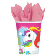 Pappersmuggar Unicorn 8p