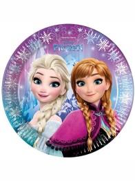 Papperstallrikar Frozen 8p - Papperstallrikar Frozen 8st