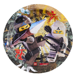 Pappersassiett Ninjago 8p - Pappersassiett Ninjago 8st