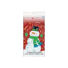 Duk av plast jul 1,37x2,13m - Duk av plast jul 1,37x2,13m