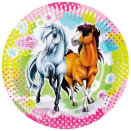 Papperstallrikar Hästar 8p - Papperstallrikar Hästar 8st
