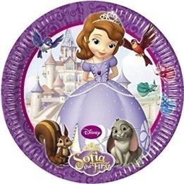 Papperstallrikar Prinsessan Sofia 8p - Papperstallrikar Prinsessan Sofia 8st