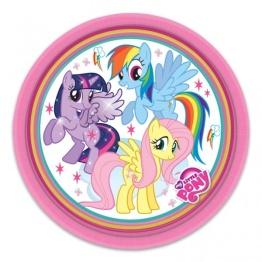 Papperstallrikar My little pony 8p - Papperstallrikar My little pony 8st