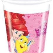 Muggar av plast Disney prinsessor 8p