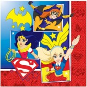 Servetter DC superhero girls 16p