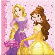Servetter Disney prinsessor 16p