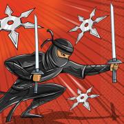 Servetter Ninja 16p