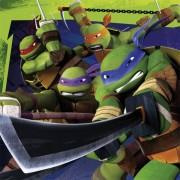 Servetter Turtles 20p