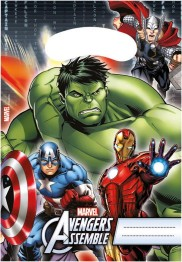 Kalaspåsar Avengers 6p - Kalaspåsar Avengers 6p