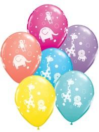 Ballonger Djungeldjur 6p - Ballonger Djungeldjur 6p