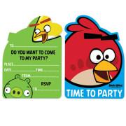 Kalasinbjudningar Angry birds 8p