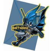 Kalasinbjudningar Batman 6p