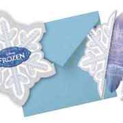 Kalasinbjudningar Frozen 6p