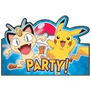 Kalasinbjudningar Pokemon 8p
