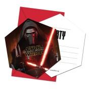 Kalasinbjudningar Star wars 6p