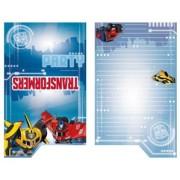 Kalasinbjudningar Transformers 8p