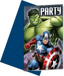 Kalasinbjudningar Avengers 6p - Kalasinbjudningar Avengers 6p