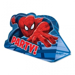 Kalasinbjudningar Spiderman 8p - Kalasinbjudningar Spiderman 8p