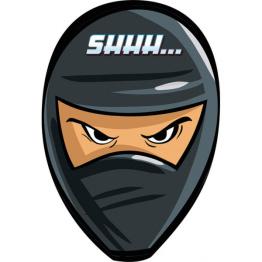 Kalasinbjudningar Ninja 8p - Kalasinbjudningar Ninja 8p