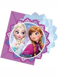 Kalasinbjudningar Frozen 6p - Kalasinbjudningar Frozen 6p