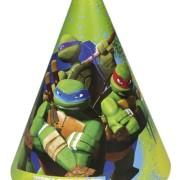 Partyhattar Turtles 6p