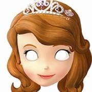 Masker Prinsessan sofia 6p
