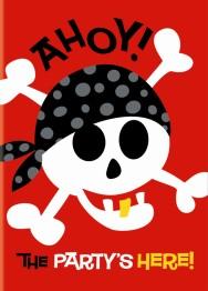 Kalasinbjudningar Pirat 8p - Kalasinbjudningar Pirat 8p