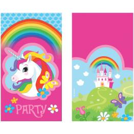 Kalasinbjudningar Unicorn 8p - Kalasinbjudningar Unicorn 8p