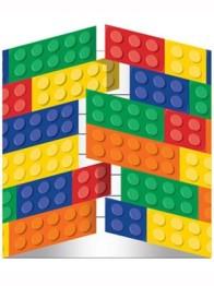 Kalasinbjudningar Block party 8p - Kalasinbjudningar Block party 8p