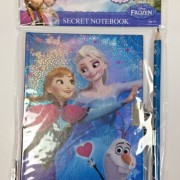 Dagbok med lås Frozen