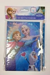 Dagbok med lås Frozen - Dagbok med lås Frozen