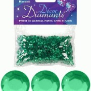 Bordsdiamanter 6mm Emerald 28g