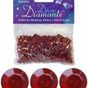 Bordsdiamanter 6mm Red 28g