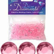Bordsdiamanter 6mm light pink 28g