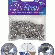 Bordsdiamanter 6mm Silver 28g