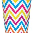 Pappersmuggar 270ml 8p chevron 25kr