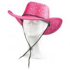 Cowboyhatt rosa onesize 99kr