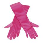 Handskar långa rosa 59kr
