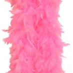Feather boa light pink 69kr