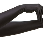 Handskar långa svarta 59kr