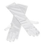 Handskar långa vita 59kr