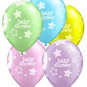 Ballonger 25p babyshower stars & moon
