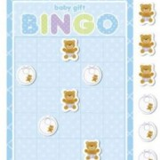 Bingospel blå