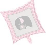 Folieballong 45,7cm pink little peanut